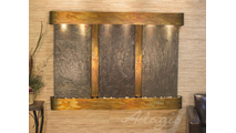 Olympus Falls - Multi-Color Slate - Rustic Copper - Rounded
