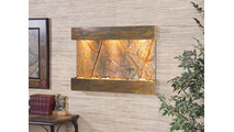 Reflection Creek - Rainforest Brown Marble - Rustic Copper