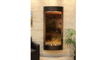 Pacifica Waters Interior Wall Fountain in Antique Bronze