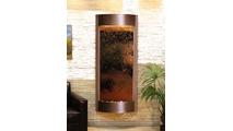 Tranquil River Water Fountain Floor Water Feature in Copper Vein