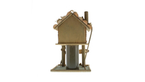 Tree House Bird House Feeder 2