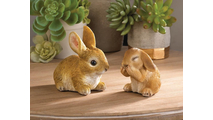 Vivid Bunny Figurine 2
