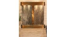 Aspen Falls - Green Slate - Rustic Copper - Rounded