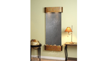 Inspiration Falls - Black FeatherStone - Rustic Copper - Rounded