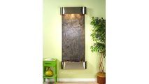 Inspiration Falls - Green FeatherStone - Stainless Steel - Rounded