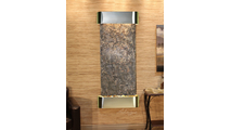 Inspiration Falls - Green Slate - Stainless Steel - Rounded