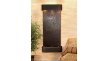 Inspiration Falls - Multi-Color FeatherStone - Blackened Copper - Rounded