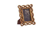 Mango Wood Carved Rectangular Photo Frame