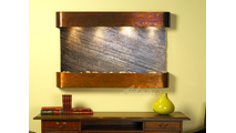 Sunrise Springs - Green FeatherStone - Rustic Copper - Rounded