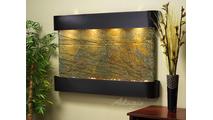 Sunrise Springs - Green Slate - Blackened Copper - Rounded