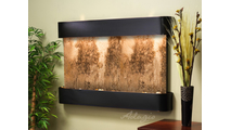 Sunrise Springs - Magnifico Travertine - Blackened Copper - Rounded