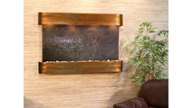 Sunrise Springs - Multi-Color FeatherStone - Rustic Copper - Rounded