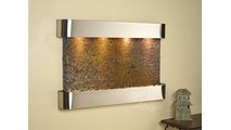 Sunrise Springs - Multi-Color Slate - Stainless Steel - Rounded