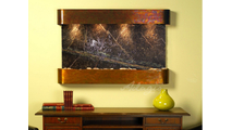 Sunrise Springs - Rainforest Green Marble - Rustic Copper - Rounded