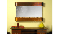 Sunrise Springs - Silver Mirror - Rustic Copper - Rounded