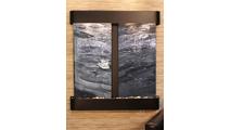 Aspen Falls - Black Spider Marble - Blackened Copper - Rounded