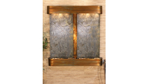 Aspen Falls - Green Featherstone - Rustic Copper - Rounded