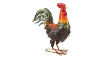 Colorful Rooster Decoration