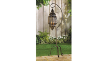 Moroccan Candle Lantern Stand 2