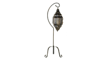 Moroccan Candle Lantern Stand 1