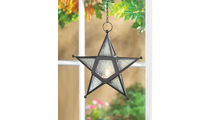 Clear Glass Star Lantern 2