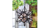 Hanging Moroccan Star Lantern 2