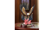 Patriotic Eagle Statue Sculpture 4
