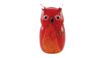 Red Owl Art Glass