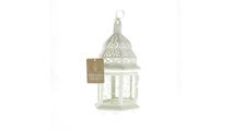 White Moroccan Lantern 3