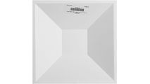 "White Diane 11 7/8"" Endurawall 3D Wall Panel Back Barcode View"
