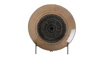 Golden Eye Decorative Plate
