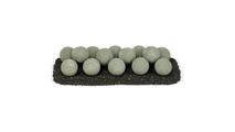 24 Inch Cape Gray Lite Stone Fire Ball Set
