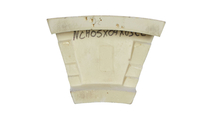 White Carrillo Accessory Recessed Mount Wall Niche Backside View