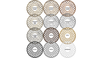 Chevron Ceiling Medallion Available Finishes