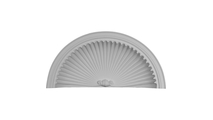 White Edwards Recessed Mount Wall Niche Cap