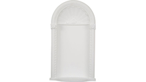 White Medway Recessed Mount Wall Niche