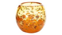 Orange Bowl Vase