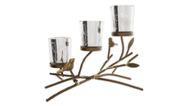 Triple Tealight Branches Candle Holder