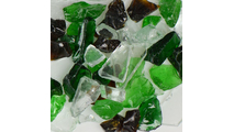 Earthtone Terrazzo Glass