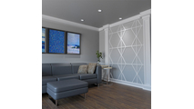 Fraser Decorative Fretwork PVC Wall Panels Room2 View