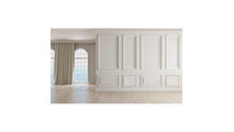 """12"""" Wide Harrison Raised Decorative Wall Panel Room View"""