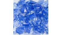 Light Blue Terrazzo Glass