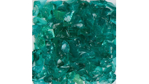 Teal Terrazzo Glass