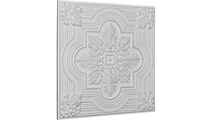 """24"""" Adonis Urethane Ceiling Tile Angled View"""