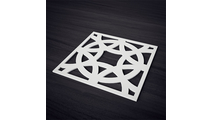 Brownsville Decorative Fretwork PVC Wall Panels Actual View