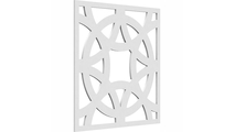 Brownsville Decorative Fretwork PVC Wall Panels Angle View