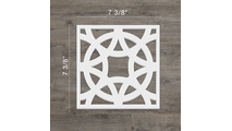 Brownsville Dcorative Fretwork PVC Wall Panels Extra Small