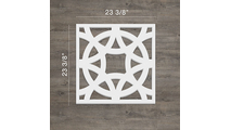 Brownsville Decorative Fretwork PVC Wall Panels Large