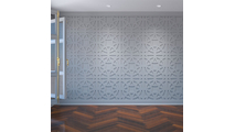 Brownsville Decorative Fretwork PVC Wall Panels Room1 View