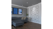 Brownsville Decorative Fretwork PVC Wall Panels Room2 View